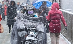 China continues blue alert for heavy snow