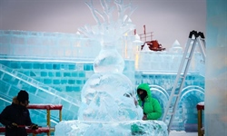 34th Harbin International Ice Sculpture Competition concludes