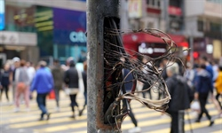 Repairs to HK traffic signals, footpaths set to cost HK$65 mln
