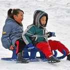 People enjoy outdoor winter sports in E China's Shandong