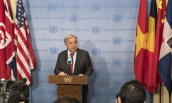 UN chief sends Chinese Lunar New Year greetings