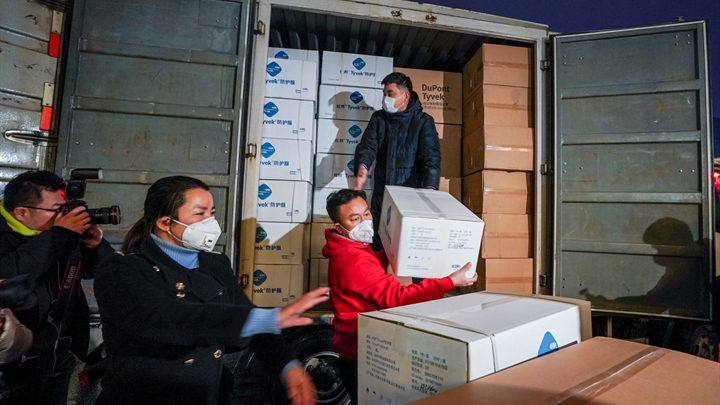 Medical staff from across China provide medical aid for Wuhan
