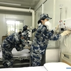 Medical staff make final preparations at Huoshenshan Hospital