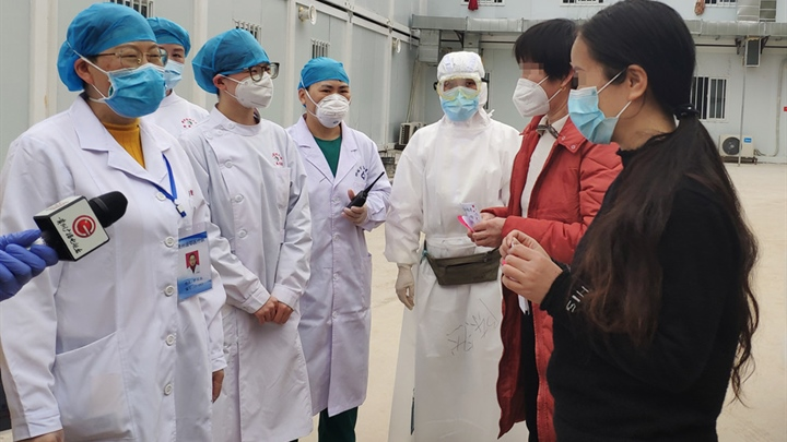 Recovery rate of virus patients in Shanghai reaches 80 percent