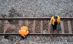 Railway repair well underway after train derailed in Chenzhou