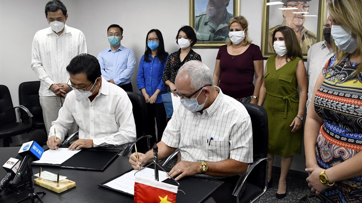 China donates COVID-19 medical supplies to Cuba