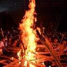 Celebrating traditional Torch Festival in Yunnan
