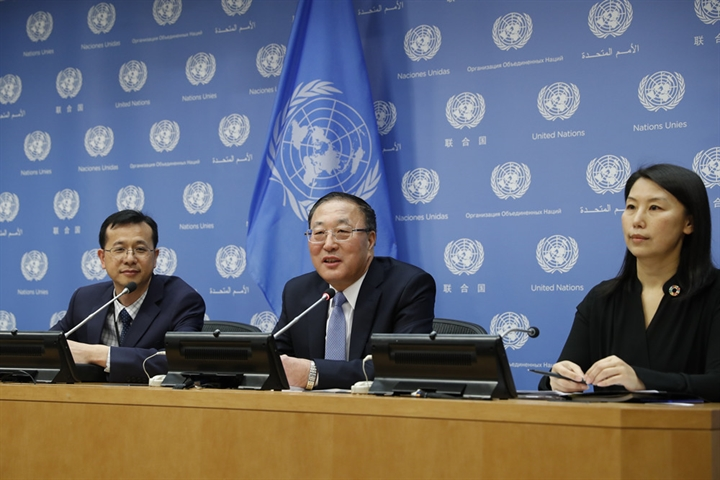 China slams U.S. Mission to the UN on internal affairs interference