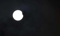 Solar eclipse seen across China