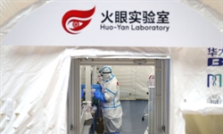 Beijing's first inflatable COVID-19 testing lab goes into operation