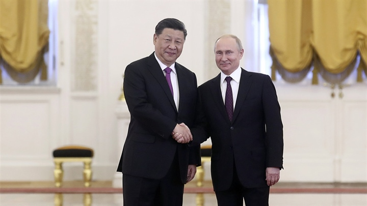 Xi, Putin stress China-Russia partnership