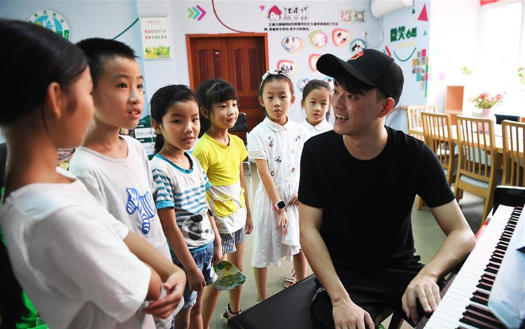 Music training course enriches children's summer vacation in Chongqing