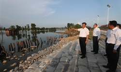 Xi urges efforts to improve disaster prevention capability