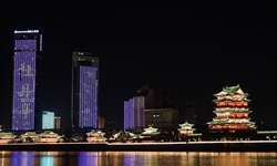 Night view in Nanchang, east China's Jiangxi