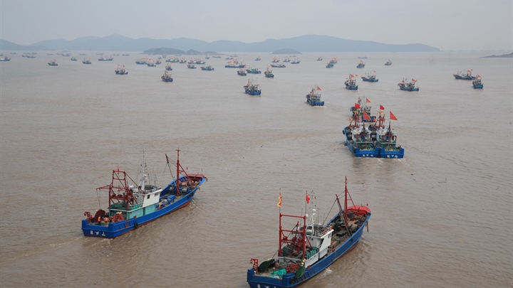 Annual fishing ban lifted in east China