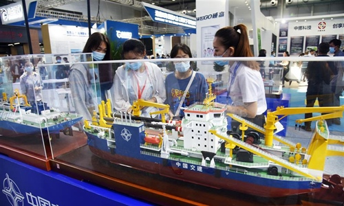 2020 East Asia Marine Expo opens in Qingdao
