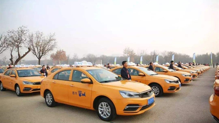 Xi'an applies navigation satellite system in taxis for real-time pollution monitoring