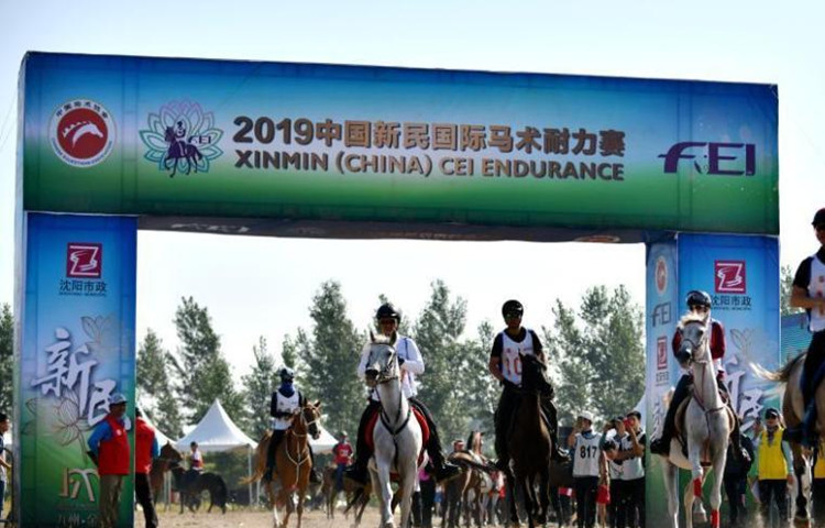 Equestrian endurance contests held in Northeast China