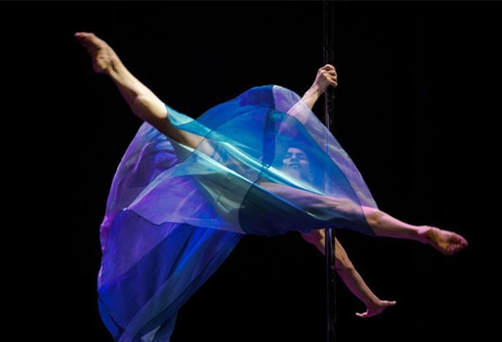 National pole dance team select new members in Tianjin