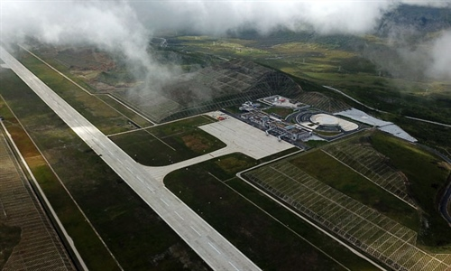 Airport, 4,068 m above sea level, opens in Sichuan