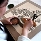 Grain painting studio helps villagers to increase income in Hebei