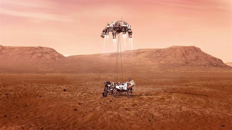 China and U.S. exchange data on Mars missions