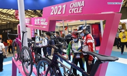 30th China Int'l Bicycle Fair kicks off in Shanghai
