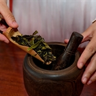 Traditional Chinese tea-boiling technique: 'Dian Tea'