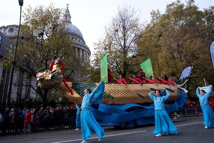 Hong Kong's entry in 2019 Lord Mayor's Show in London