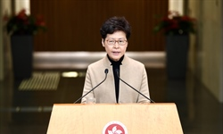 Hong Kong to roll out more relief measures: chief executive